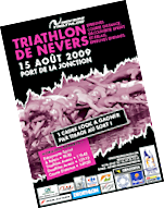 Triathlon de Nevers du 15 août 2009