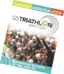Betton : Finale du Championnat de France des clubs Triathlon D2