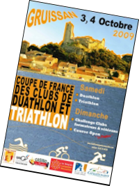 Coupe de France des clubs de Duathlon et Triathlon 2009 à Gruissan