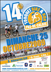 Affiche du 14ème Touquet Bike & Run